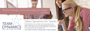 Feature image for Team Dynamics by Ann Baret