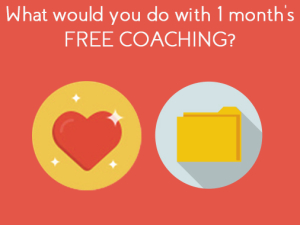 Icons for Ann Baret poll to win free coaching