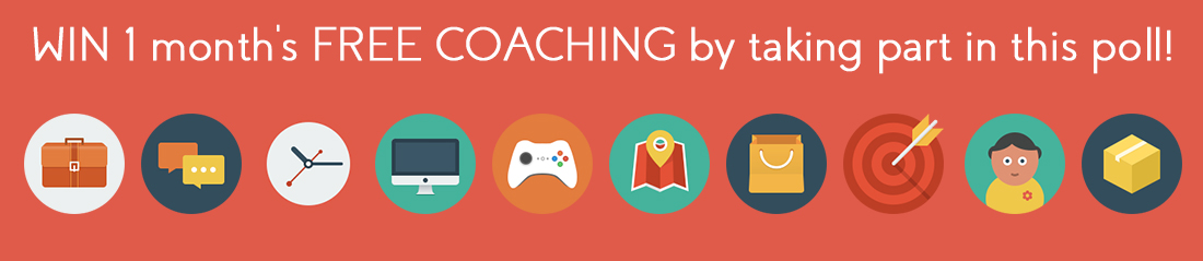 feature image for Ann Baret poll to win month free coaching