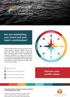 Team Dynamics Contribution Compass Free Guide Cover Page